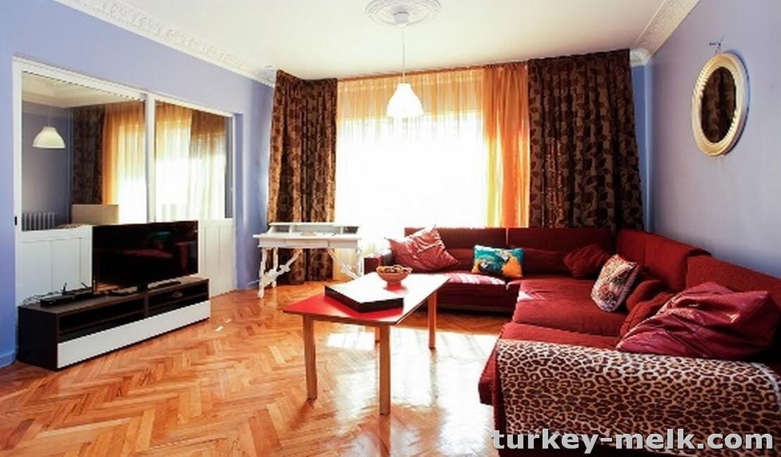آپارتمان اجاره ای در استانبول سه خوابه کد 5002