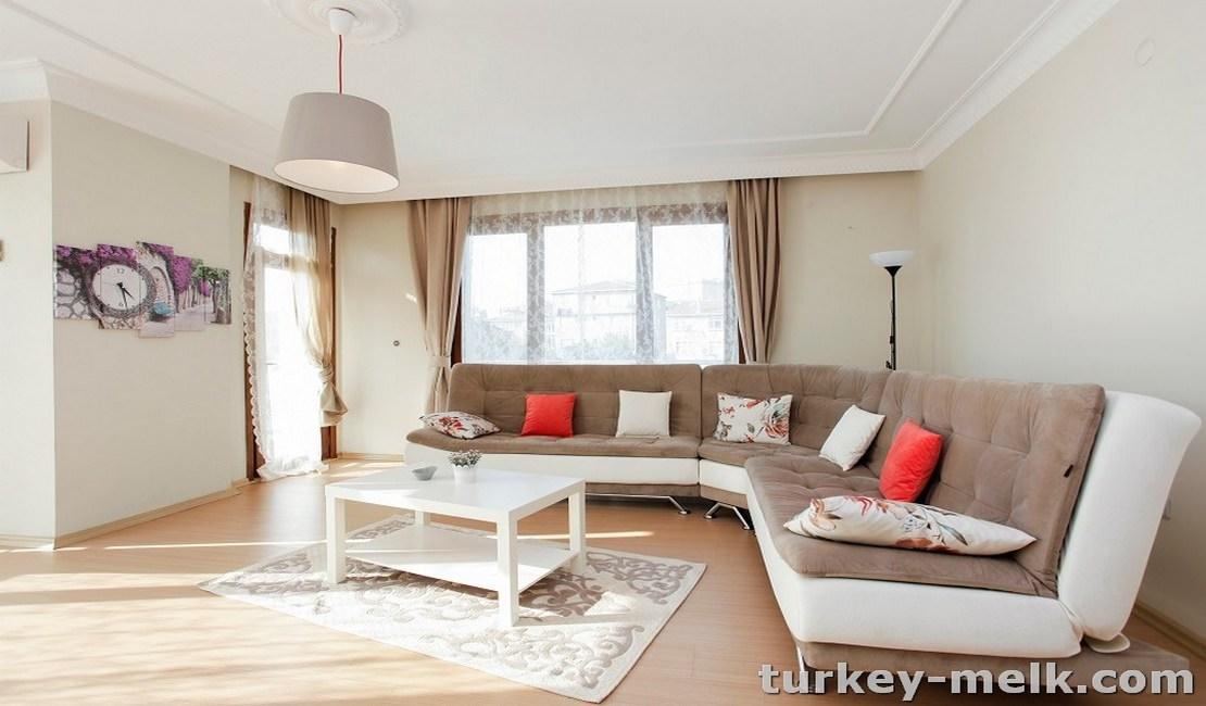 آپارتمان اجاره ای در استانبول دو خوابه کد 5005