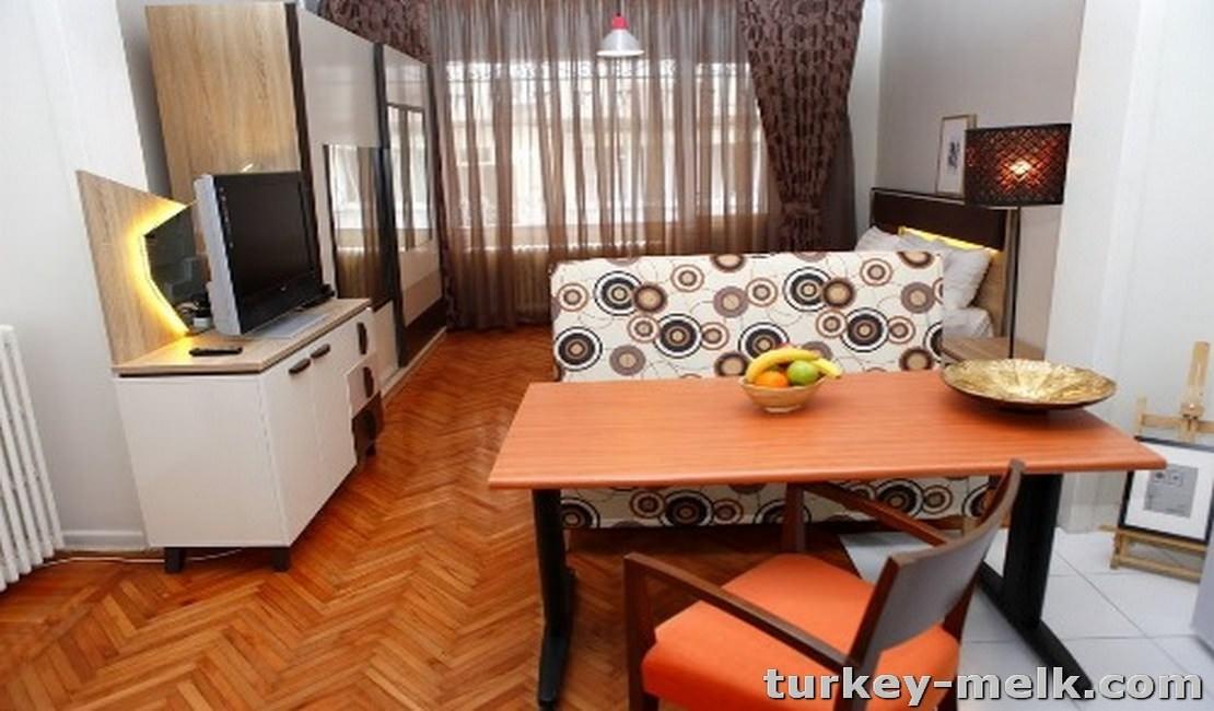 آپارتمان اجاره ای در استانبول یکخوابه کد 5001