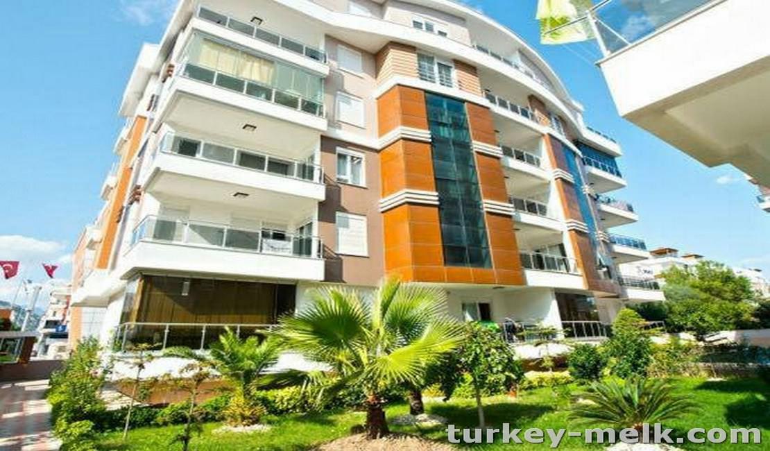 آپارتمان اجاره ای در آنتالیا دوخوابه مبله
