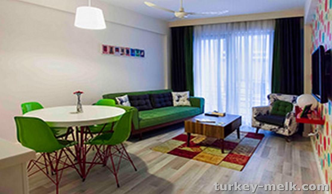 آپارتمان یکخوابه اجاره ای در استانبول