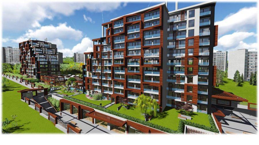 خرید آپارتمانهای مدرن در استانبول شماره061