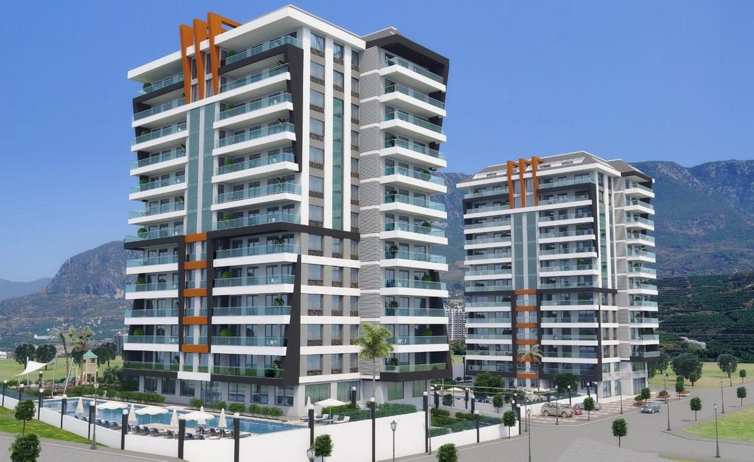 فروش ویژه آپارتمان های لوکس نوساز در آلانیا