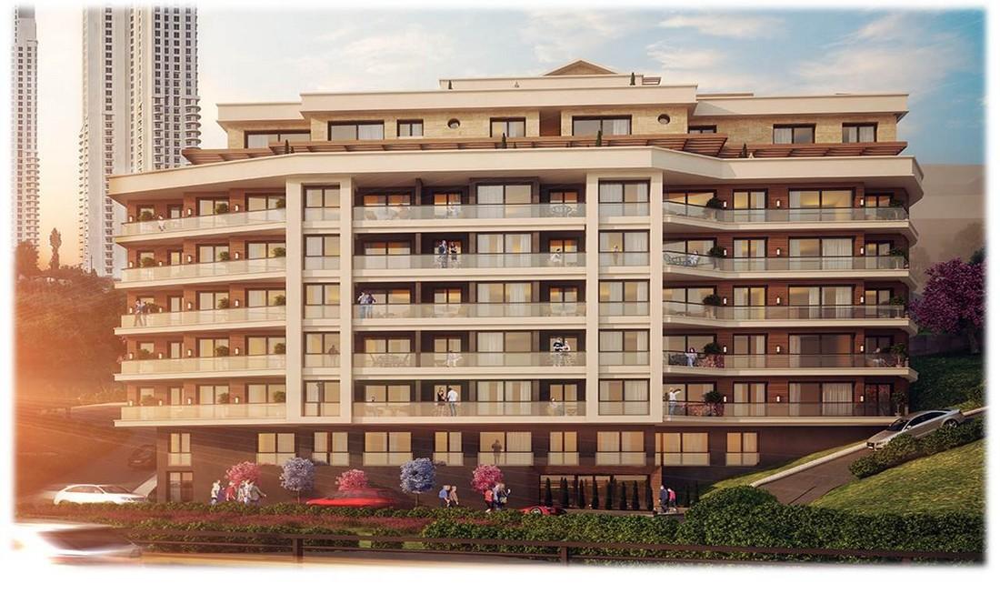 خرید آپارتمان های آماده تحویل در شیشلی استانبول در مرکز بخش اروپایی