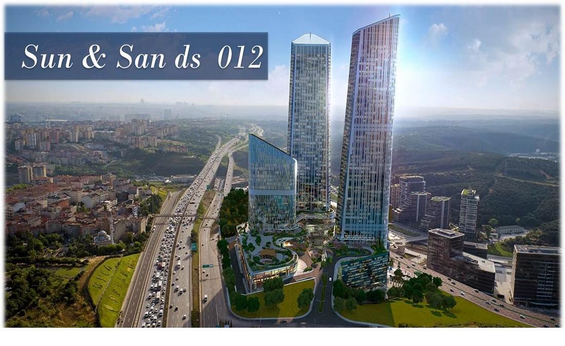 خرید واحدهای مسکونی از برج زیبا در استانبول