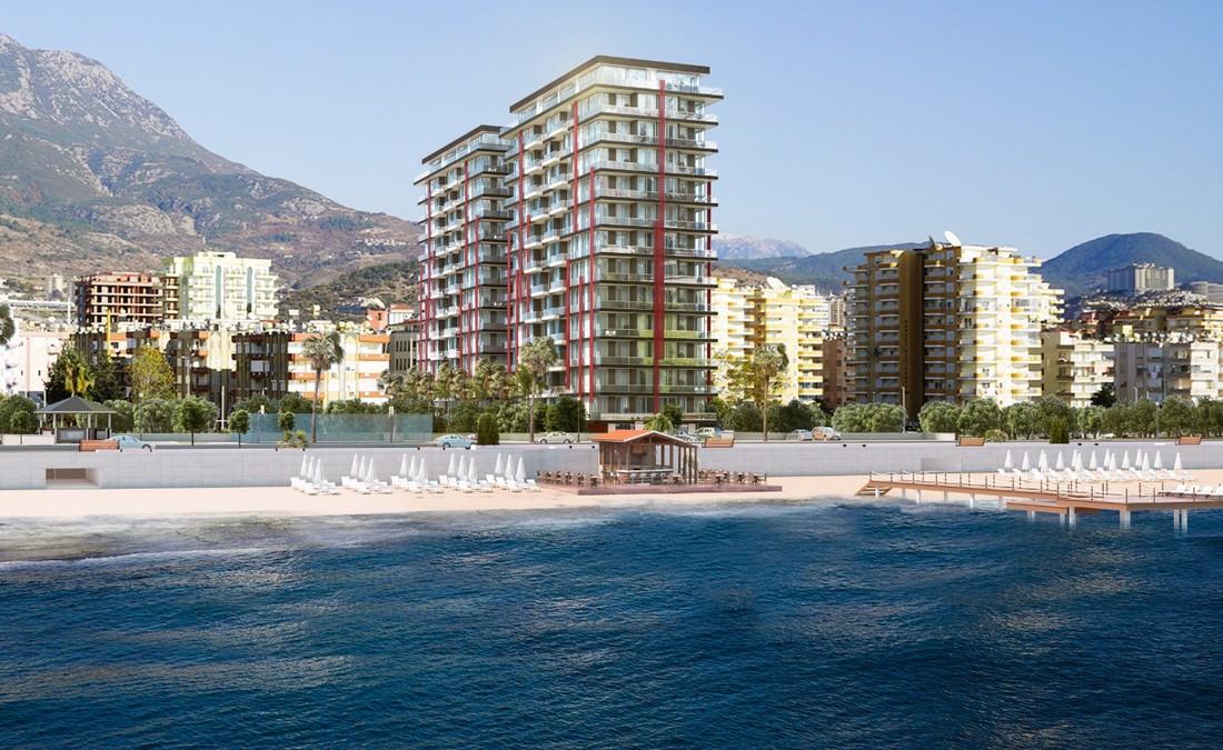 آپارتمان فروشی کنار سواحل زیبای شهرآلانیا