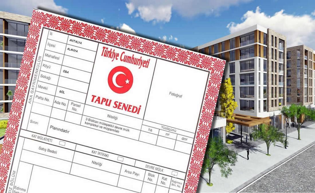تغییرات ویژه سند املاک در ترکیه