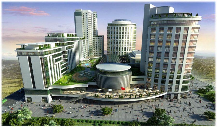 خرید آپارتمان در استانبول در مرکز خرید اسنیورت