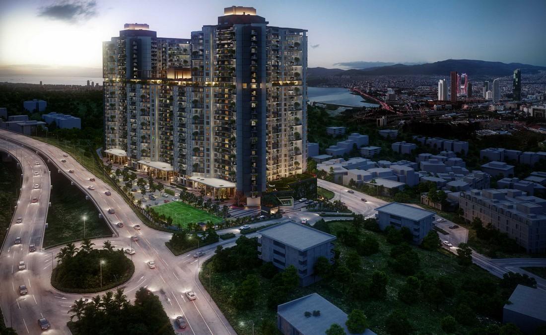 خرید آپارتمان در پروژه ای لوکس در مرکز ازمیر