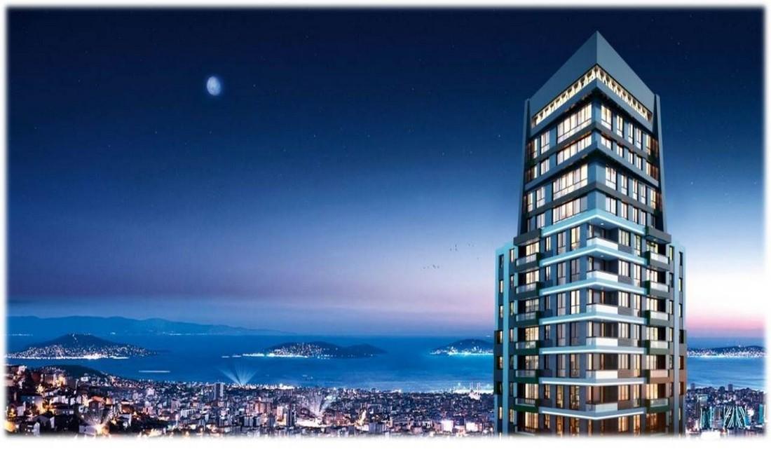 خرید آپارتمان مدرن در منطقه کارتال بخش آسیایی استانبول