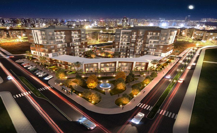 مجتمع مسکونی نوساز در ازمیر