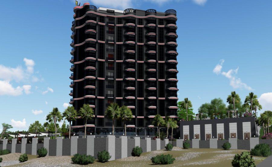 مجتمع مسکونی نوساز در آلانیا