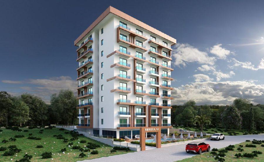 فروش آپارتمان های یک خوابه با بهترین قیمت در آلانیا