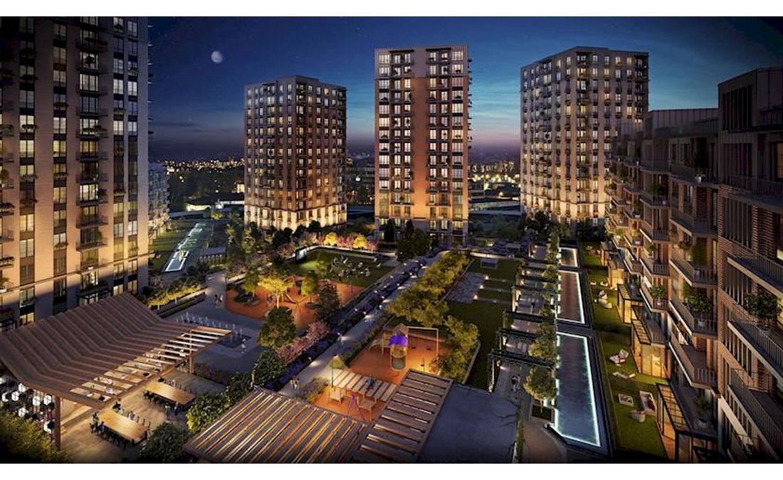 خرید واحد مسکونی پروژه بی نظیر در عمرانیه استانبول