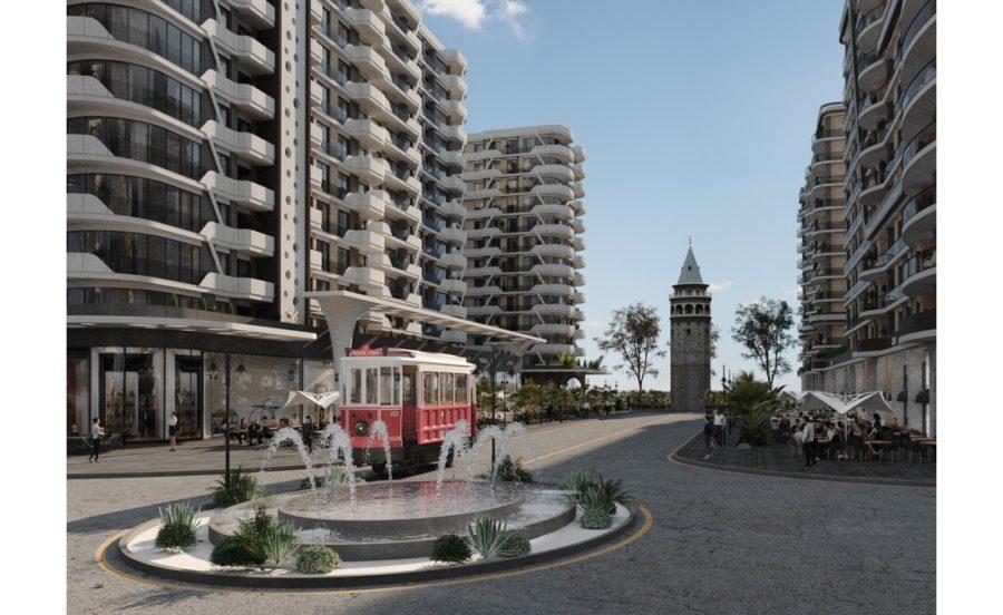 خرید آپارتمانی مدرن در یکی از زیباترین پروژههای استانبول