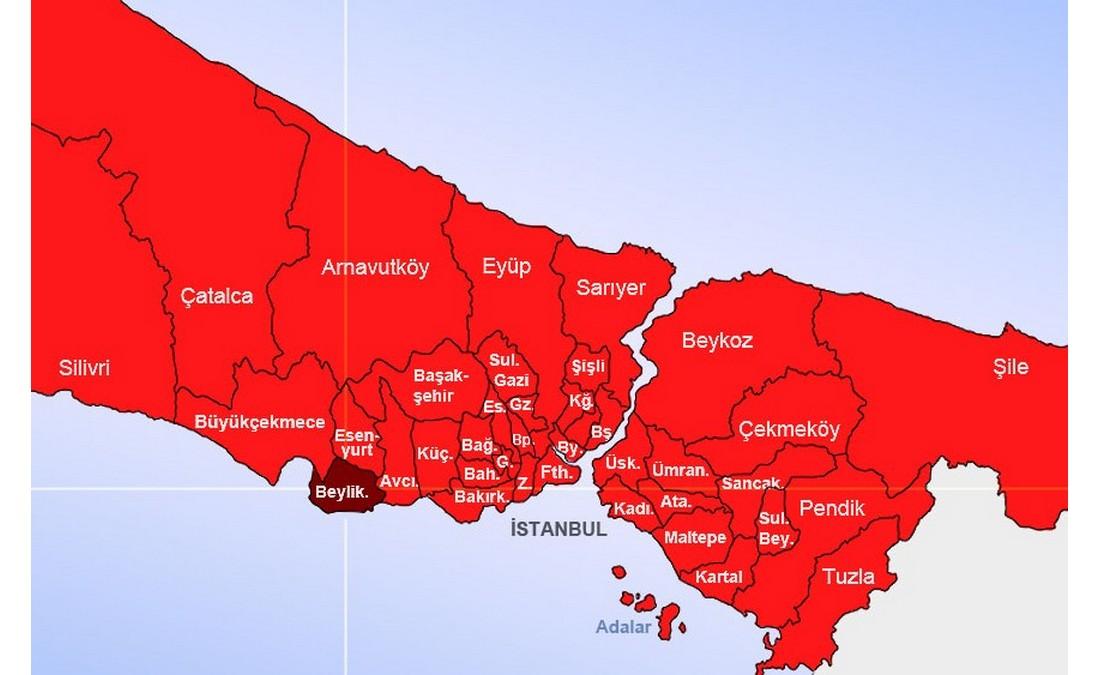 منطقه بیلیکدوزو استانبول