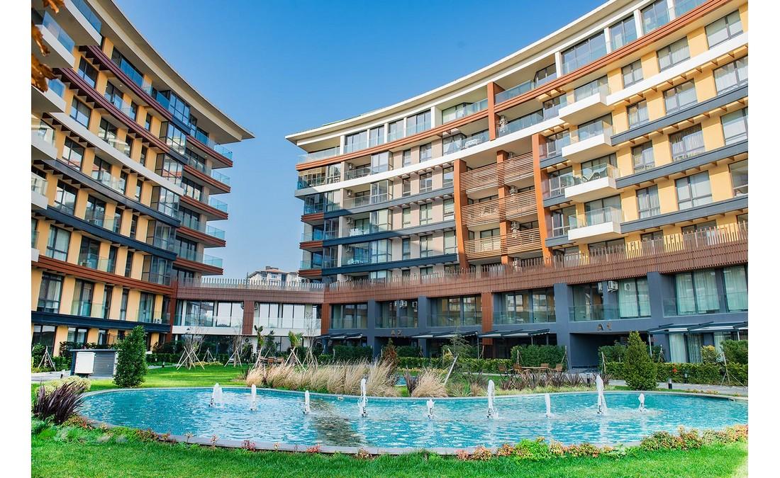 خرید آپارتمان با منظره دریا در منطقه بویوک چکمجه استانبول