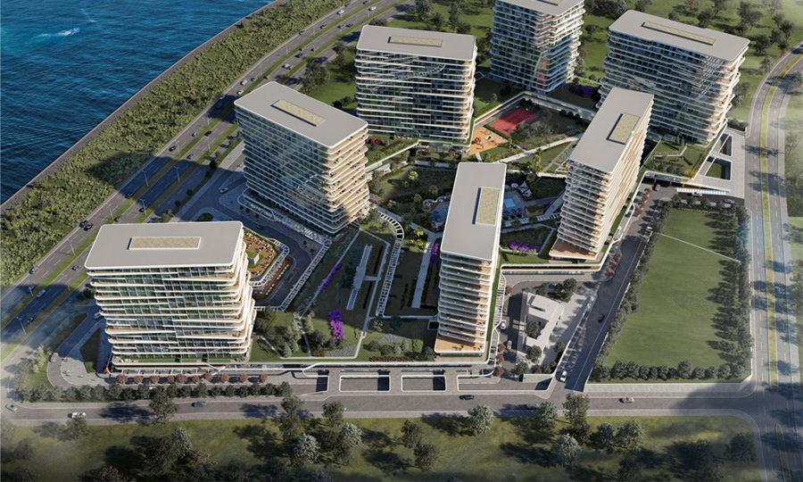 خرید آپارتمان خاص و لوکس در استانبول منطقه زیتین بورنو شماره 320