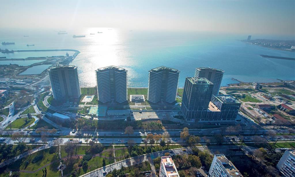 خرید آپارتمان با منظره دریا در استانبول منطقه باکیرکوی شماره 503