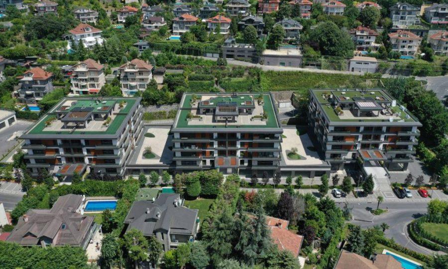 خرید آپارتمان لوکس در استانبول منطقه آسیایی و زیبای بیکوز شماره 507