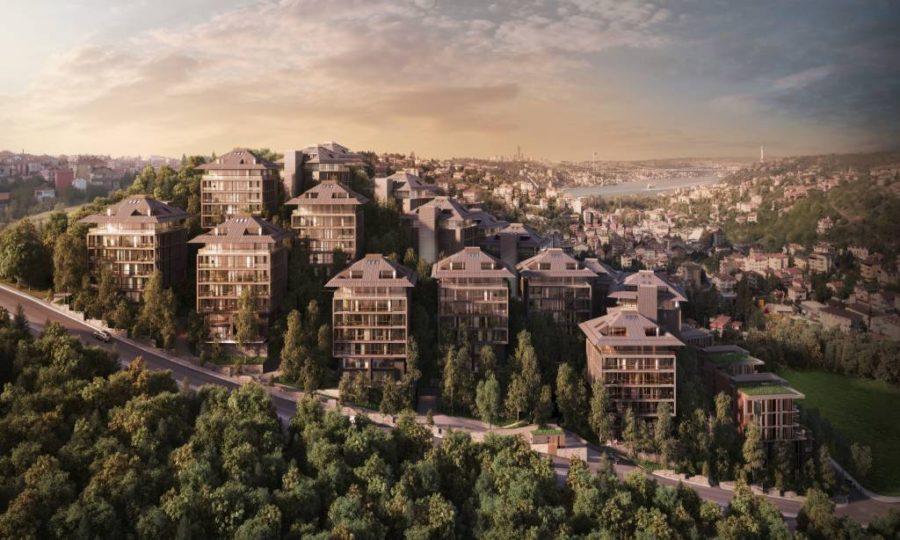 خرید آپارتمان بسیار لوکس در بخش آسیایی استانبول منطقه اوسکودار شماره 395