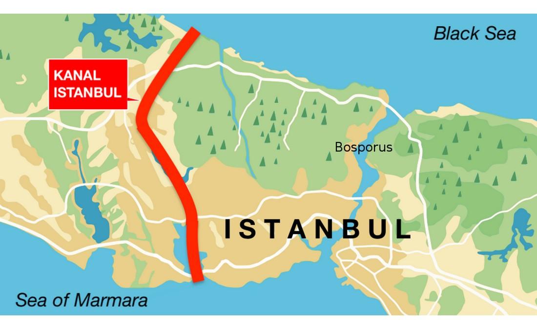 پروژه کانال استانبول