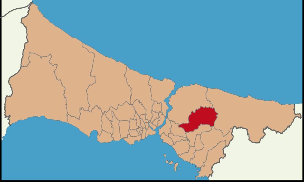 منطقه چکمه کوی استانبول