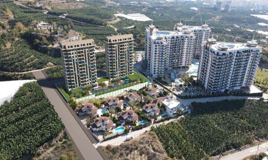 خرید آپارتمان مدرن و لوکس با بهترین قیمت در منطقه محموتلار آلانیا شماره AL125