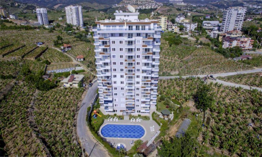 آپارتمان های زیبا با قیمت مناسب درمنطقه محموتلار آلانیا شماره 110