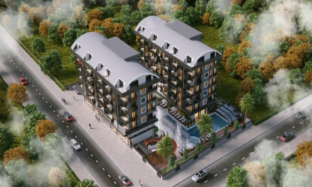 خرید آپارتمان فوق العاده زیبا در منطقه محموتلار آلانیا شماره 122