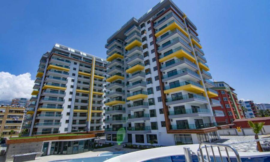 خرید آپارتمان با منظره دریا در منطقه محموتلار آلانیا شماره 111