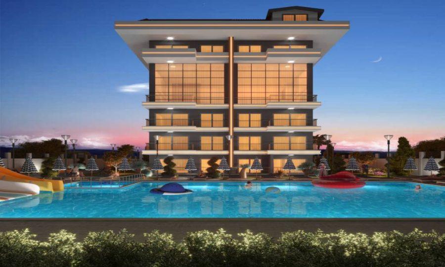 خرید آپارتمان لوکس با منظره دریا در منطقه کستل آلانیا شماره 142