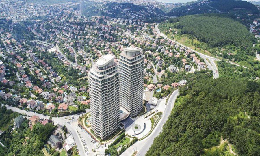 خرید آپارتمان لوکس در منطقه آسیایی و زیبای بیکوز استانبول شماره 453