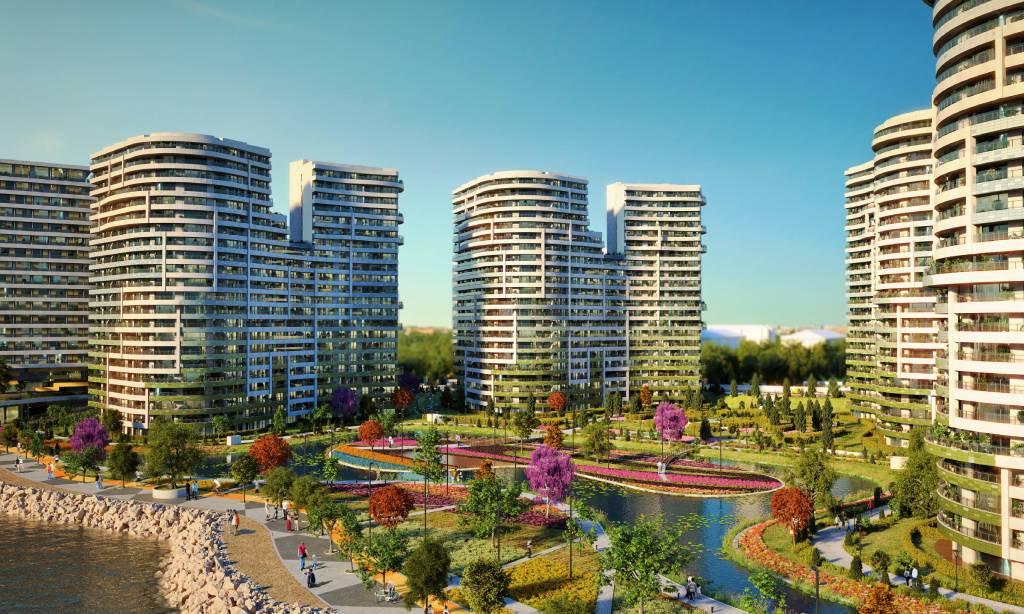 خرید آپارتمان لوکس با منظره دریا در منطقه باکیرکوی استانبول شماره 310
